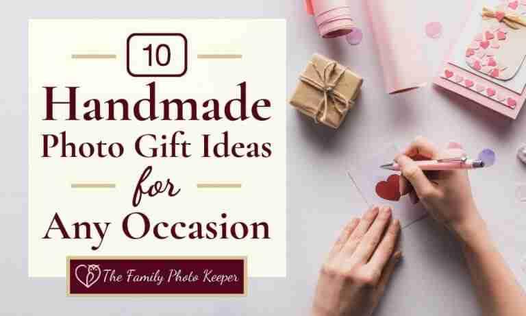 10 Unique Handmade Photo Present Ideas