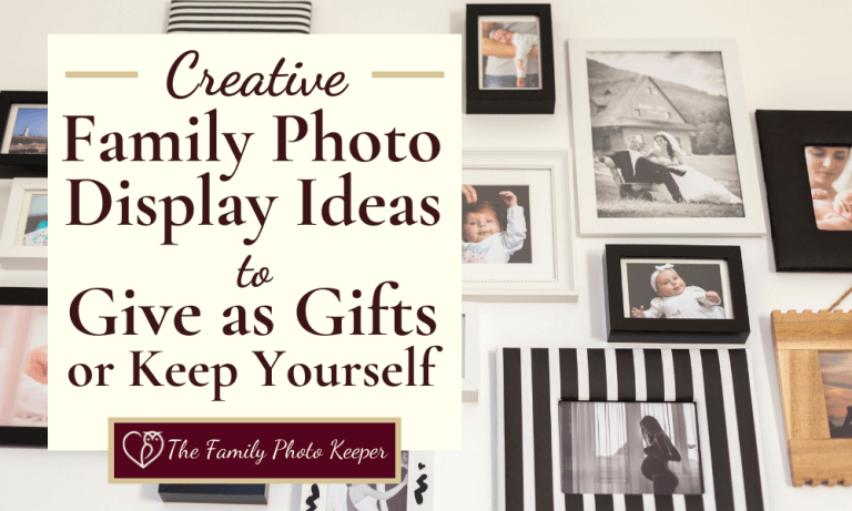 Creative Family Photo Display Ideas to Show the world Who and What You Love
