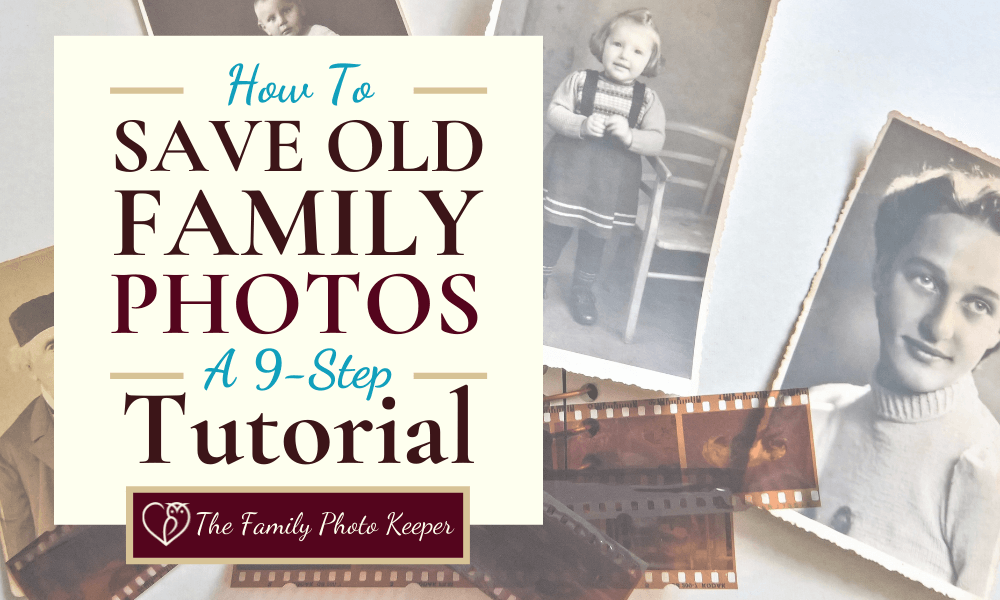 how to save old photos blog header